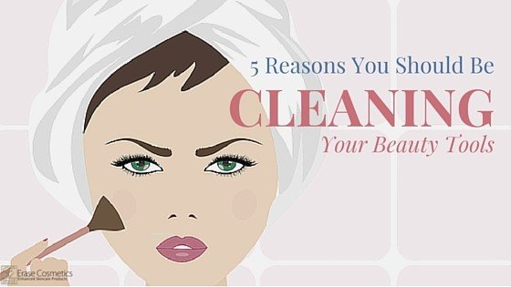 5 REASONS YOU SHOULD BE CLEANING YOUR BEAUTY TOOLS 1